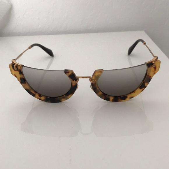 cfd036f30489 MIU MIU RASOIR WINK Cat Eye Sunglasses SMU11Q. M 5b9835abc2e9fe0ae5303a2b.  Other Accessories ...